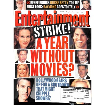 Entertainment Weekly, September 15 2000
