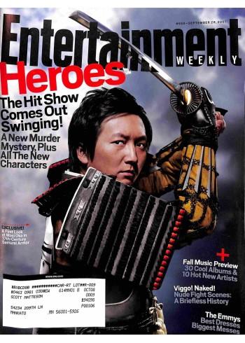 Entertainment Weekly, September 28 2007