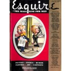 Cover Print of Esquire, January 1938