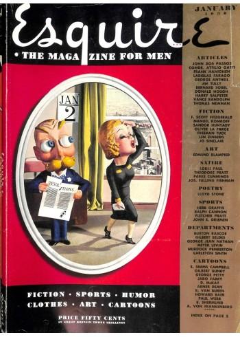 Esquire, January 1938