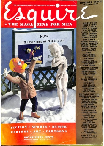 Esquire, January 1942