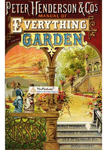 Everything for the Garden, 1885. Poster Print.