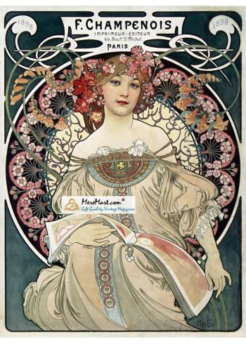 F. Champenois, 1898. Poster Print.