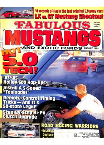 Fabulous Mustangs and Exotic Fords, August 1993