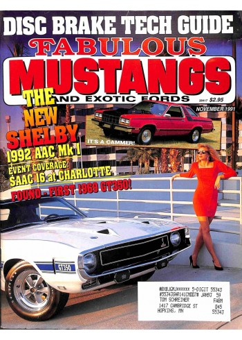 Fabulous Mustangs and Exotic Fords, November 1991