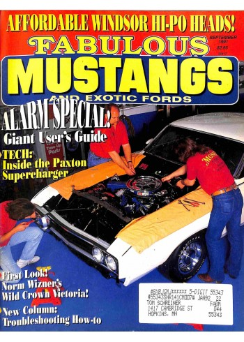 Fabulous Mustangs and Exotic Fords, September 1991
