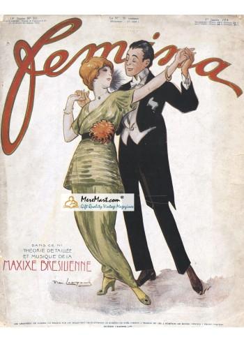 Femina, January 1, 1914. Poster Print.