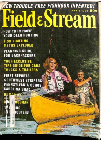 Cover Print of Field and Stream, April 1969
