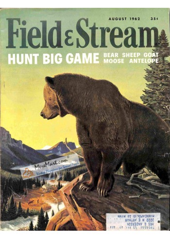 Cover Print of Field and Stream, August 1962