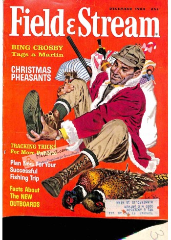 Cover Print of Field and Stream, December 1962