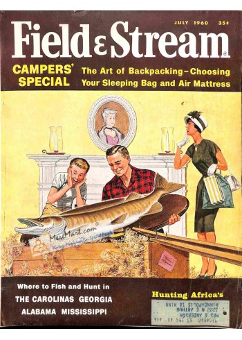Cover Print of Field and Stream, July 1960