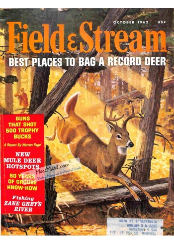 Cover Print of Field and Stream, October 1962