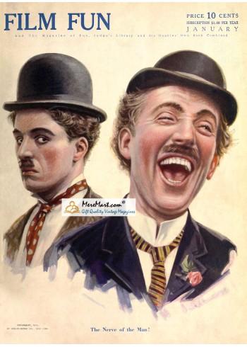 Film Fun, January, 1916. Poster Print.