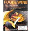 Cover Print of Food and Wine, January 1999
