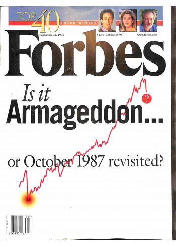 Cover Print of Forbes, September 21 1998