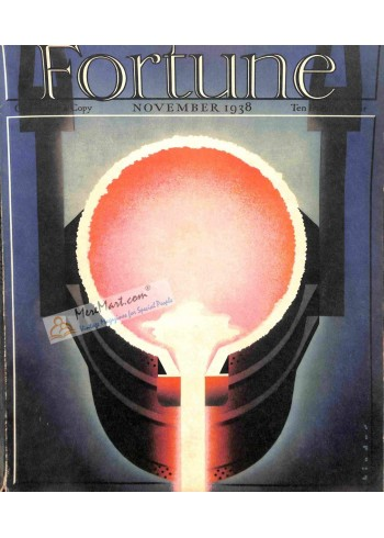 Cover Print of Fortune, November 1938