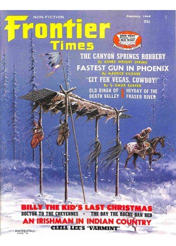 Cover Print of Frontier, January 1968