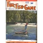 Cover Print of Fur-Fish-Game, April 1947
