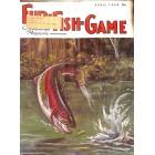 Cover Print of Fur-Fish-Game, April 1968