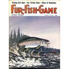 Cover Print of Fur-Fish-Game, April 1973