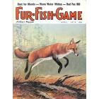 Cover Print of Fur-Fish-Game, April 1974