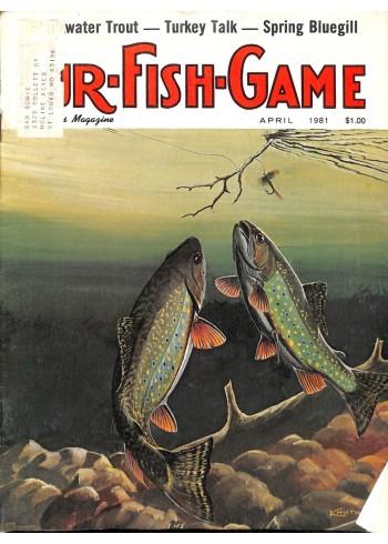 Cover Print of Fur-Fish-Game, April 1981