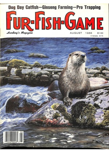 Cover Print of Fur-Fish-Game, August 1986