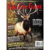 Cover Print of Fur-Fish-Game, August 2015