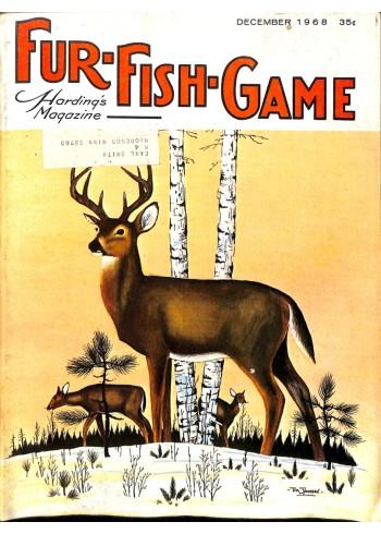 Cover Print of Fur-Fish-Game, December 1968
