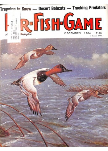 Cover Print of Fur-Fish-Game, December 1984