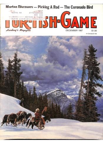 Cover Print of Fur-Fish-Game, December 1987