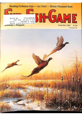Fur-Fish-Game, December 1989