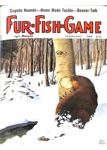 Cover Print of Fur-Fish-Game, February 1982