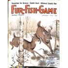 Cover Print of Fur-Fish-Game, January 1973
