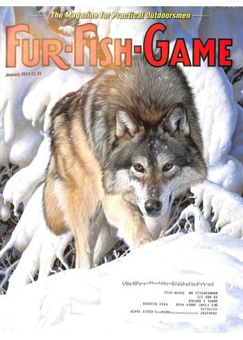 Cover Print of Fur-Fish-Game, January 2014