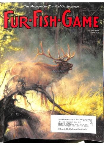 Cover Print of Fur-Fish-Game, July 2002