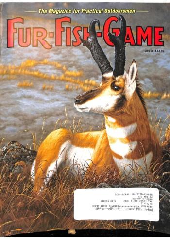 Cover Print of Fur-Fish-Game, July 2011