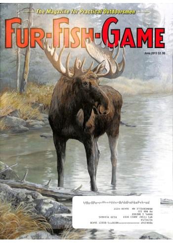 Cover Print of Fur-Fish-Game, June 2013