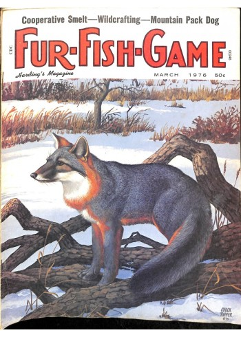Cover Print of Fur-Fish-Game, March 1976