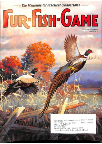 Fur-Fish-Game, November 2006