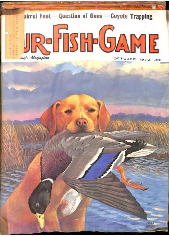 Cover Print of Fur-Fish-Game, October 1972
