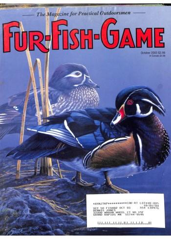 Fur-Fish-Game, October 2003
