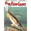 Cover Print of Fur Fish Game, February 1983