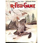 Cover Print of Fur Fish Game, January 1977