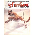 Cover Print of Fur Fish Game, January 1985