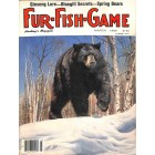 Cover Print of Fur Fish Game, March 1986