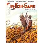 Cover Print of Fur Fish Game, November 1977