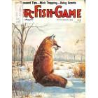 Cover Print of Fur Fish Game, November 1983