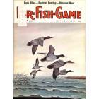 Cover Print of Fur Fish Game, September 1977