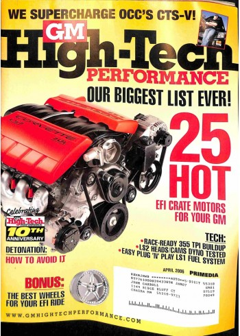 GM High Performance, April 2006